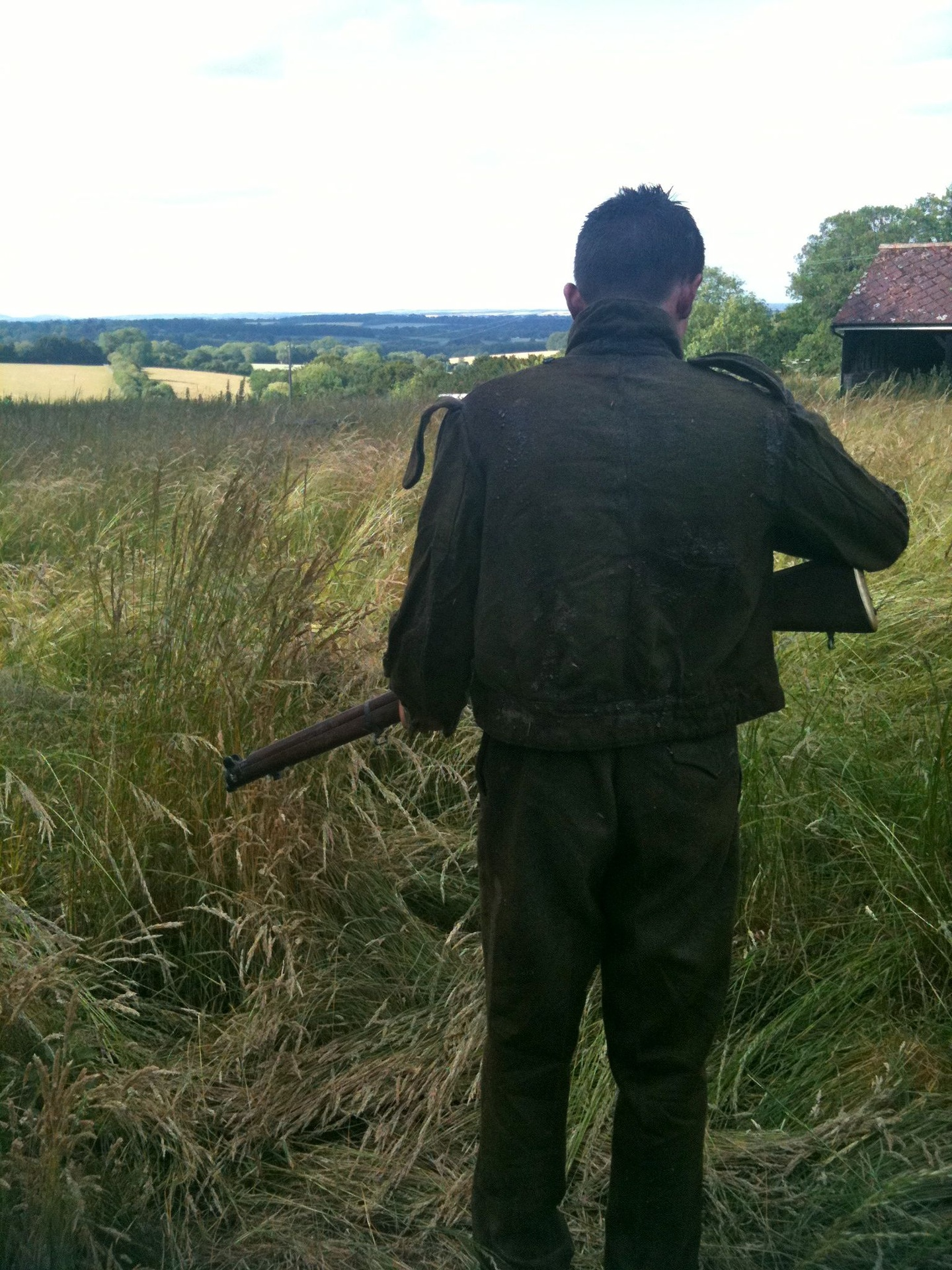 WW2 Albert with rifle